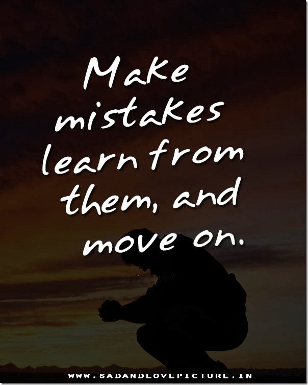 Saying Quotes About Sadness: Mistakes Sad Quotes Heart. QuotesGram