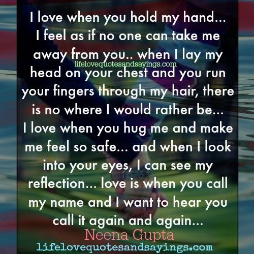 I Want To Cuddle With You Quotes: Love Quotes Hold My Hand. QuotesGram