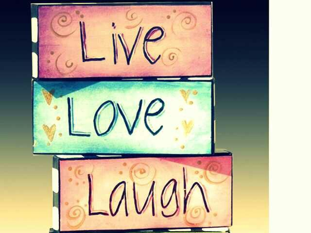 Live Love Laugh Quotes: Laugh Love Quotes Colorful Life. QuotesGram