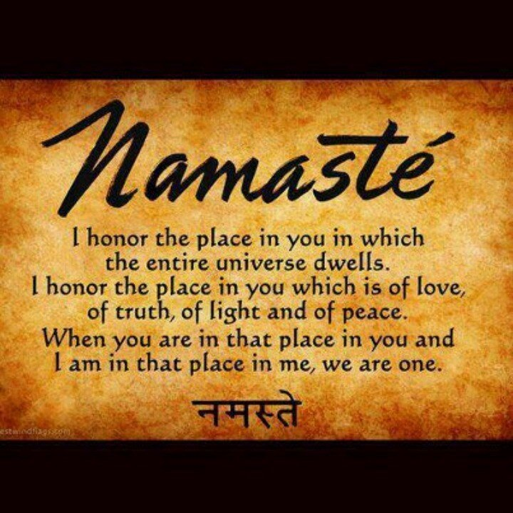 My Namaste Quotes Sayings Quotesgram