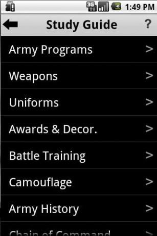 Army Study Guide - Army Programs - cram.com