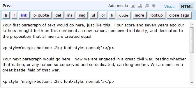 MLA Format Written estimates