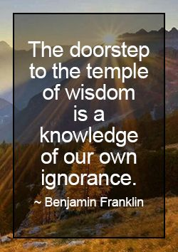 Ben Franklin Wit And Wisdom Quotes. QuotesGram