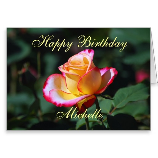 Birthday Roses Quotes: Happy Birthday Michelle Quotes. QuotesGram