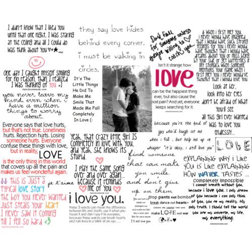 Confused love sayings