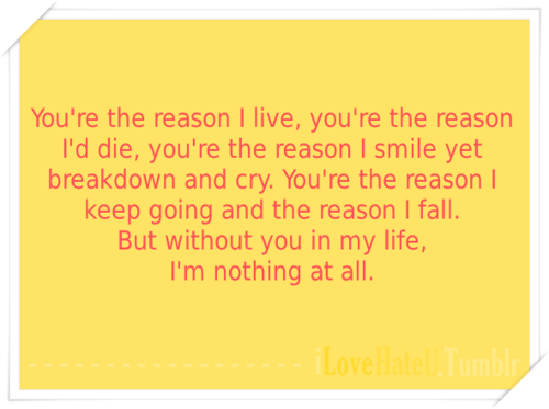 Youre My Everything Quotes Quotesgram: Youre The Reason Quotes. QuotesGram
