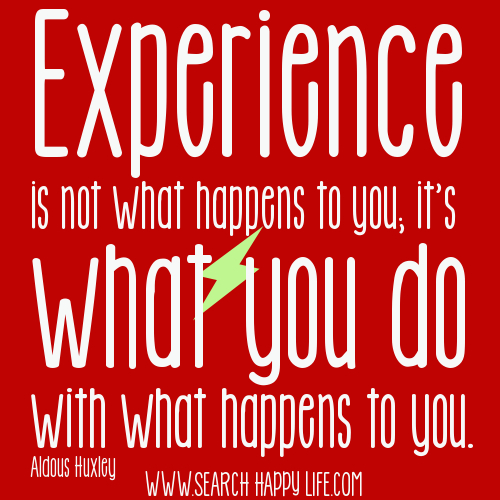 Quotes About Experience: Experiences Quotes. QuotesGram