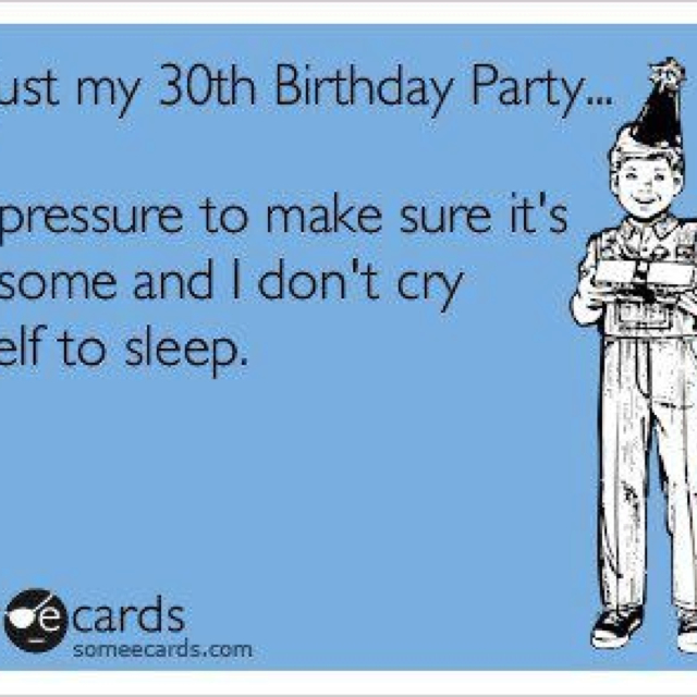 30 Funny Birthday Quotes: Turning 30 Birthday Quotes. QuotesGram