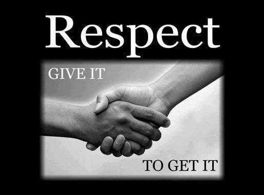 inspirational quotes on respect quotesgram