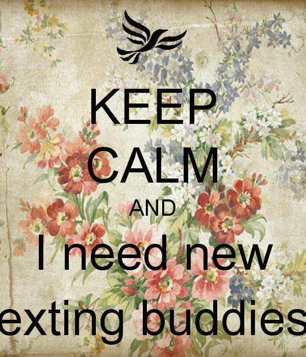 find texting buddy