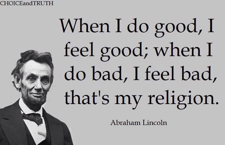 quotes abraham lincoln on religion quotesgram. Black Bedroom Furniture Sets. Home Design Ideas