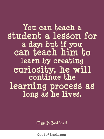 'I couldn't continue as a teacher without understanding ...