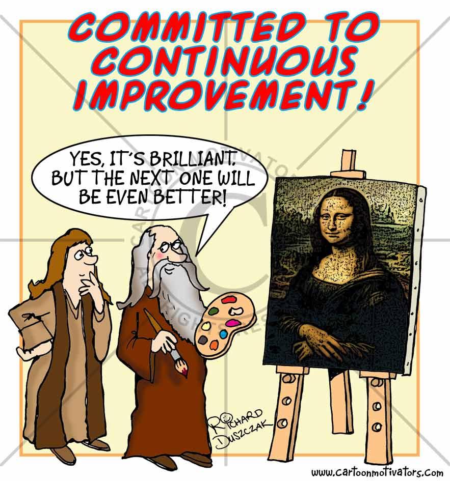Continuous Quality Improvement Quotes Quotesgram
