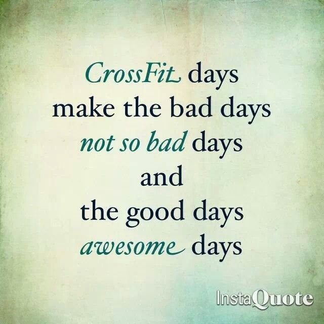 Crossfit Quotes: Quotes Of The Day Crossfit. QuotesGram