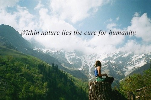 hippie quotes about nature  quotesgram