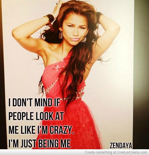 Zendaya Coleman Quotes. QuotesGram