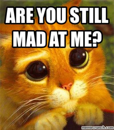 You Are Mad At Me Quotes Quotesgram