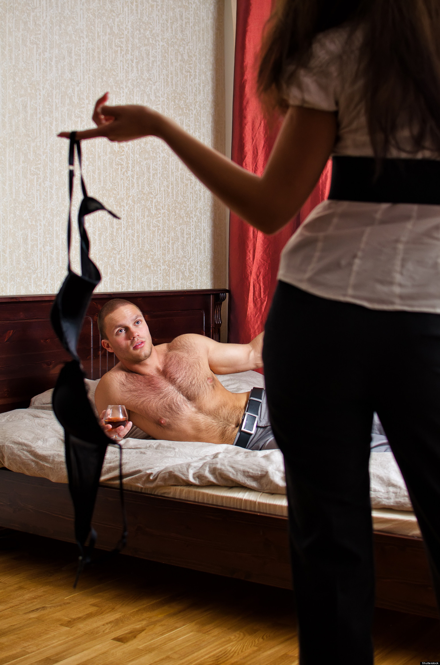 Husband by cheating caught The biggest
