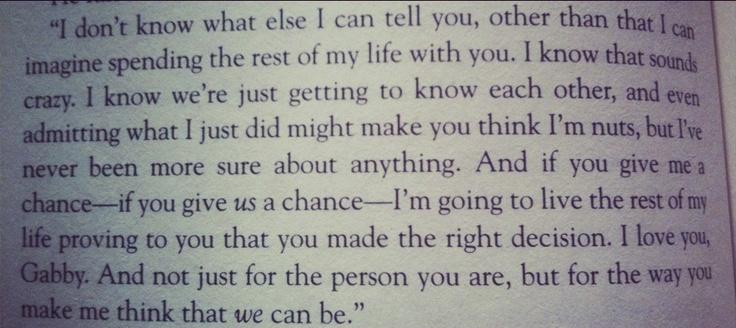 Nicholas Sparks Movie Quotes Quotesgram: Nicholas Sparks Quotes. QuotesGram