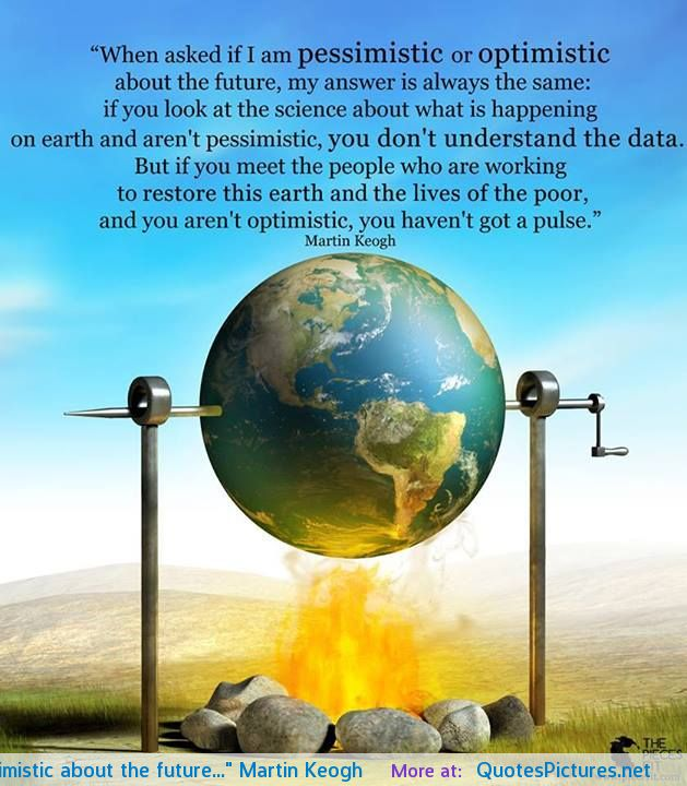 Optimistic about the future essay