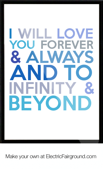 I Love You Forever And Always Quotes. QuotesGram