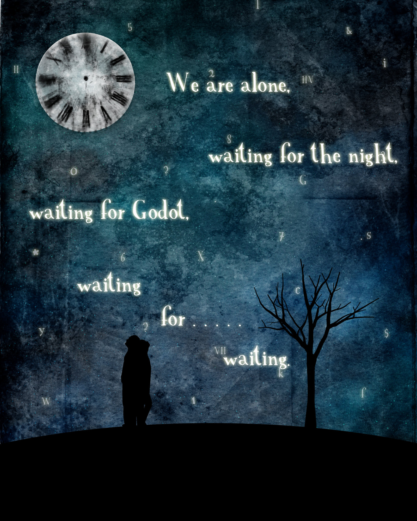 the theme of life in waiting for godot by samuel beckett Home → sparknotes → literature study guides → waiting for godot waiting for godot samuel beckett table of contents summary summary & analysis.