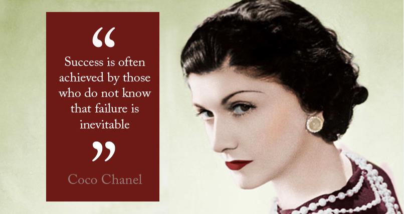 Success Quotes Chanel. QuotesGram