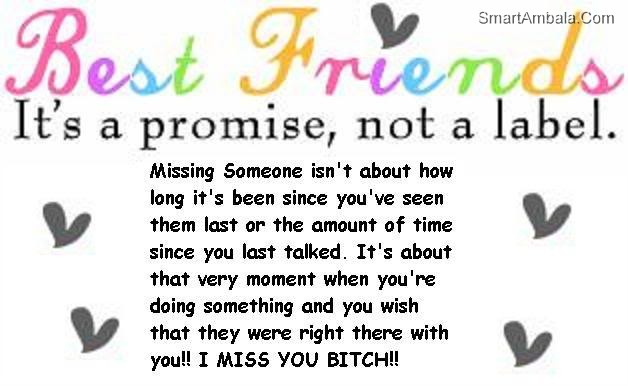 Funny Quotes About Missing Friends. QuotesGram