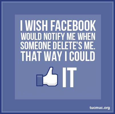 Unfriend Me On Facebook Quotes. QuotesGram