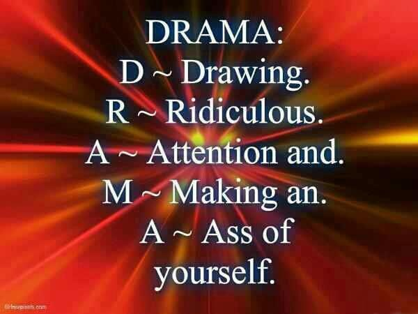 Funny Facebook Drama Quotes | hubpages |Women Quote Funny Drama