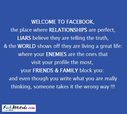 Friendship Quotes On Facebook: Fake Friends Quotes For Facebook Status. QuotesGram