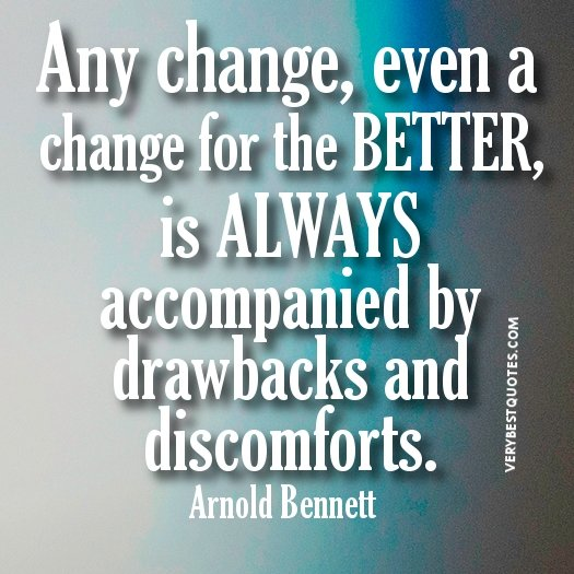 positive quotes about change quotesgram