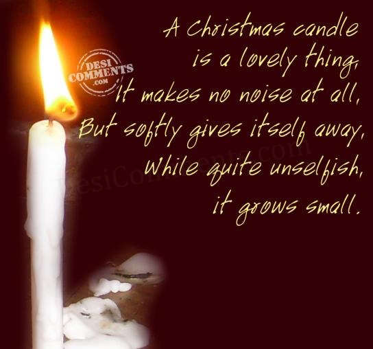 Quotes And Sayings: Christmas Candle Quotes. QuotesGram