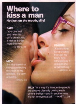 Where to kiss on the neck