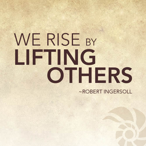 Quotes About Giving Back: Inspirational Quotes About Community Support. QuotesGram