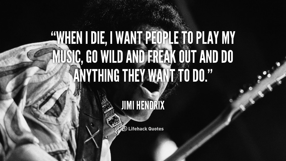 the life and career of jimi hendrix Guitar virtuoso jimi hendrix, who died in 1970, not only left behind a  i was in  constant contact with him even in the height of his career  she was blessed  that she was adopted into a family that some people long for in life.