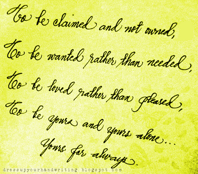 Rhyming Life Quotes: Handwritten Quotes. QuotesGram