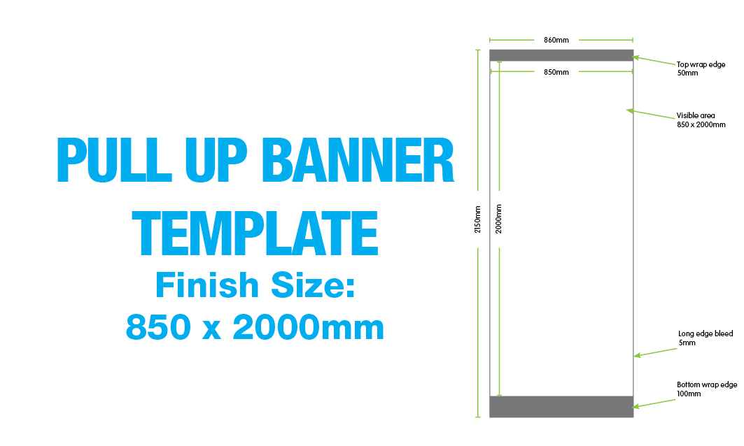 Pull Up Banner Size In Pixels Best