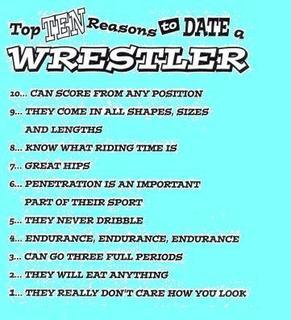 Dating a wrestler