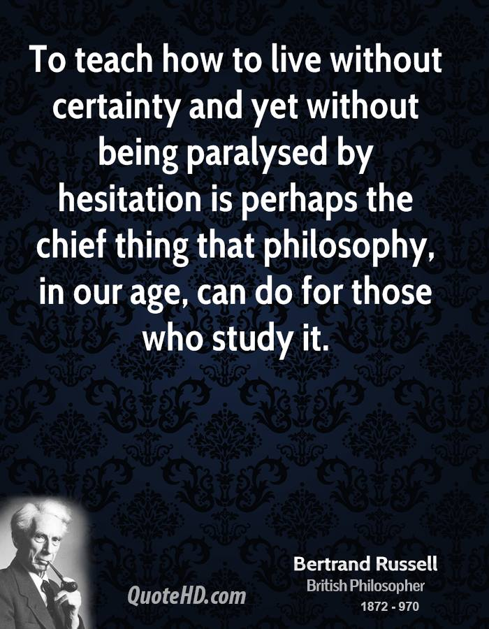 Bertrand russell do we survive death