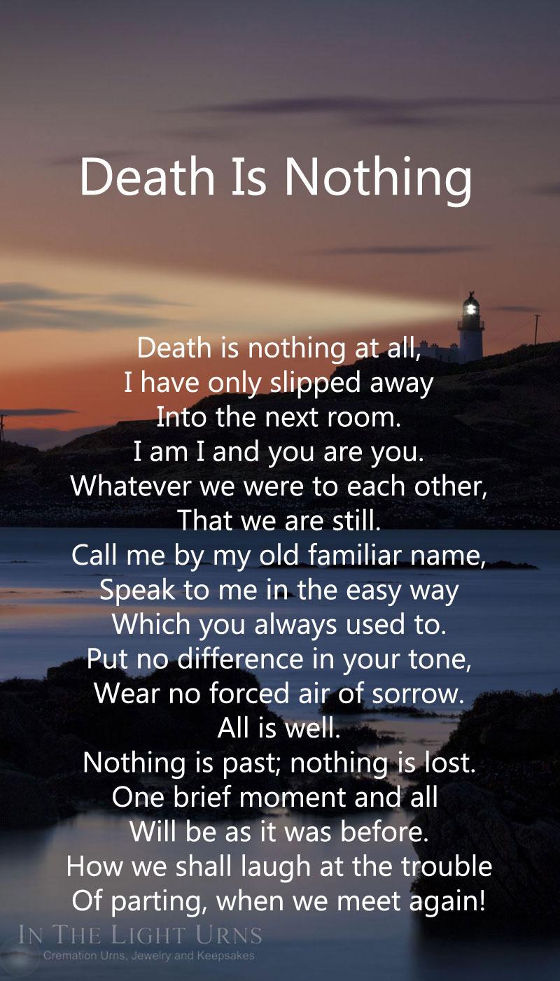 Remembrance Death Quotes