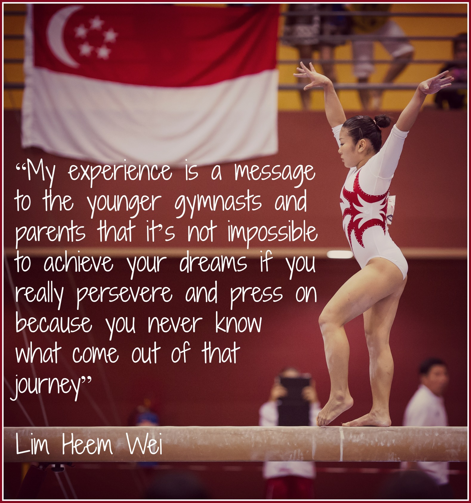 Inspirational Quotes On Pinterest: Inspirational Gymnastics Quotes. QuotesGram