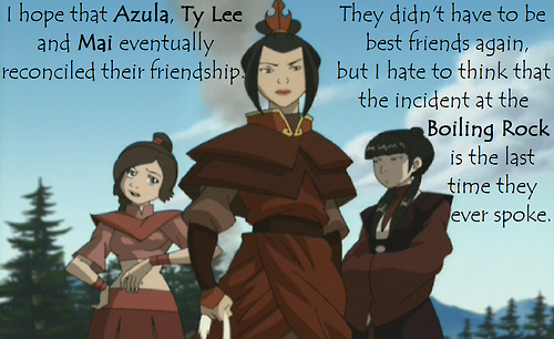 incorrect ty lee quotes | Tumblr