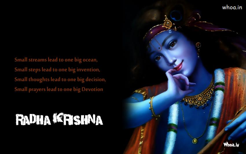 389410729 Krishna Wallpapers With Quote