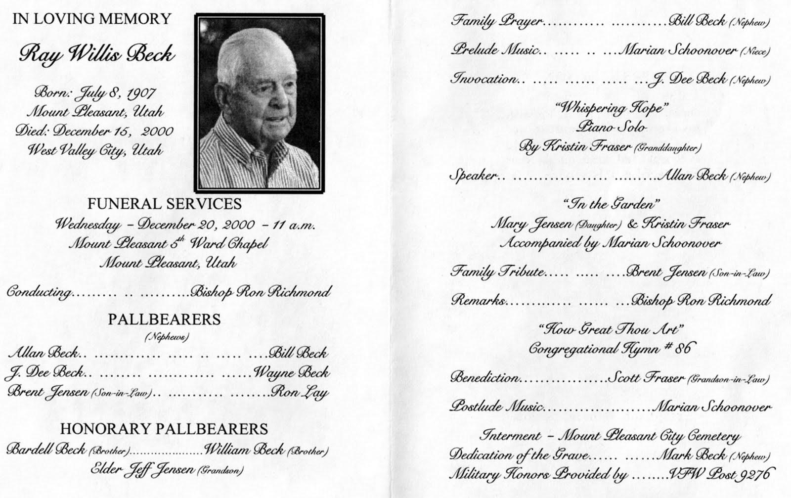 Spanish Funeral Program Template Program Template Funeral Card Order of Service Memorial Program Funeral Template Ceremony Program