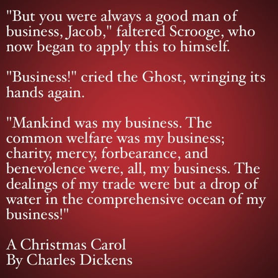 Quotes From A Christmas Carol. QuotesGram