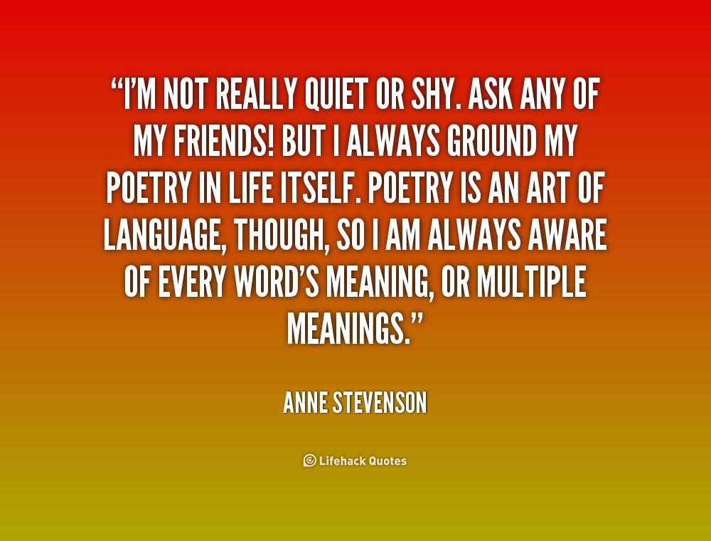 Im Shy Quotes. QuotesGram I Am Quiet Quotes
