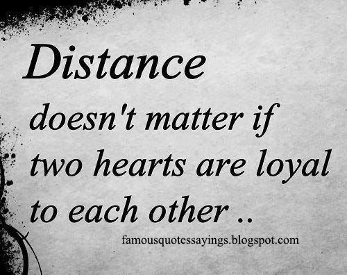 famous quotes about distance quotesgram