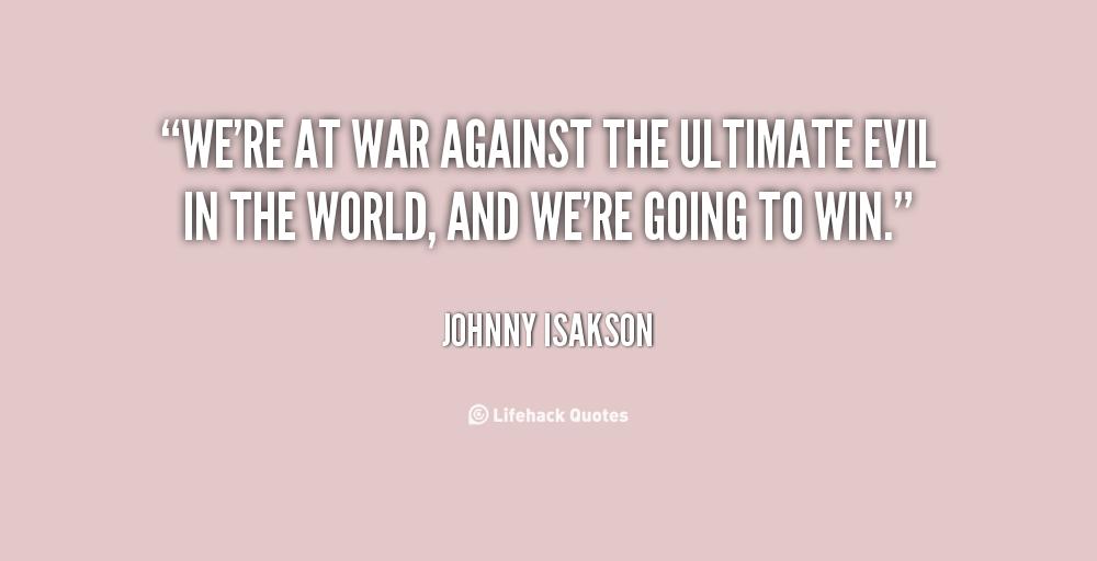 Against The Evil World...