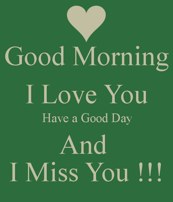 Good Day Love Quotes